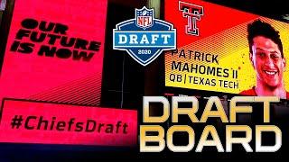 The RGR 2020 NFL Draft Board Release | Kansas City Chiefs News Rumors