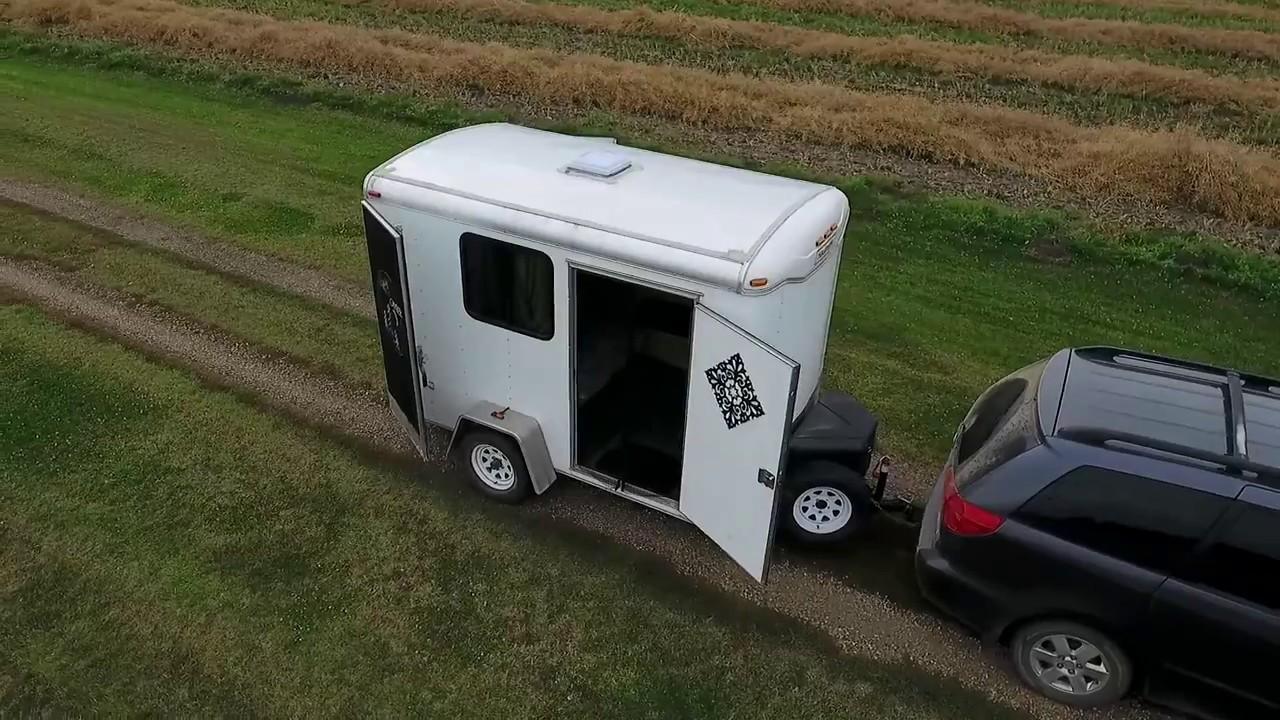 Cargoutility Trailer Conversion 6x10 Stealth Camper Sleeps Family