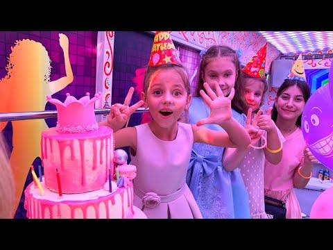 День рождения Насти Платье много Подарков и Крутая Party вечеринка