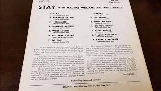 MAURICE WILLIAMS & THE ZODIACS - BUT NOT FOR ME - STAY LP - HERALD 1014 - RECORDED 1961