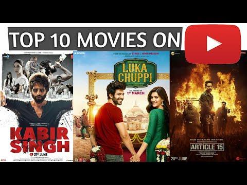 Top 10 Best Bollywood Movies On Youtube Like Kabir Singh, Article 15, Luka Chuppi