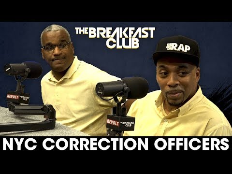 NYC Correction Officers Discuss The Dangers And Violence Officers Face On Rikers Island