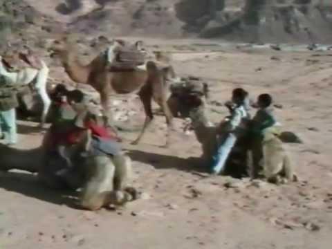 The wadi Rum (Jordanie / Jordan / الأردن) in 1991