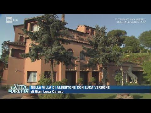 Entriamo nella villa di Alberto Sordi - La Vita in Diretta 15/06/2017