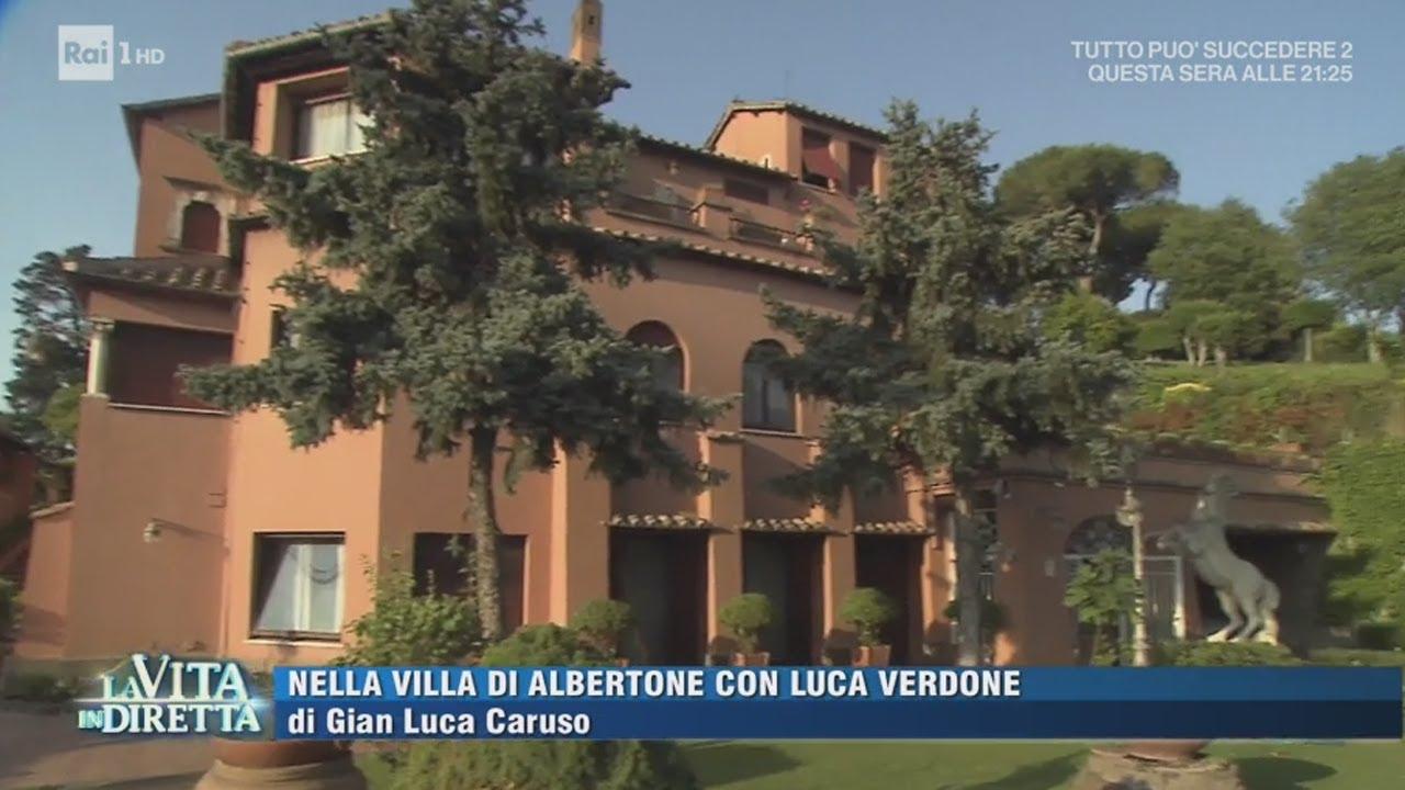 Entriamo nella villa di Alberto Sordi - La Vita in Diretta 15/06 ...