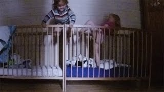 Twins Baby Climbing Out Of Crib - The Art Of Crib Hopping - Babies Escape From Crib