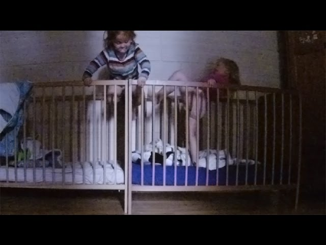 Twins Baby Climbing Out Of Crib The Art Of Crib Hopping Babies Escape From Crib Clip Fail