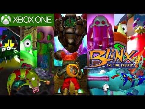 Blinx Todos los Jefes/All Bosses XBOX ONE