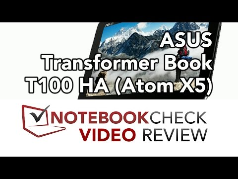ASUS Transformer Book T100HA (Atom X5) Review and test results