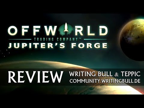 Review: Offworld Trading Company | AddOn Jupiter's Forge [deutsch]