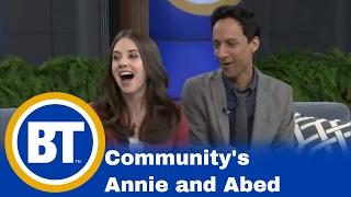 BT Toronto: Community's Annie and Abed!