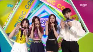 BLACKPINK Rose   Interview @ Music Core 170715