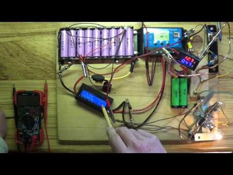 DIY Solar And 18650 Lithium Battery The G T  Power Rc Meter