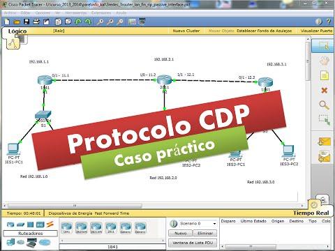 CDP02: Protocolo CDP - Cisco Systems - Caso práctico