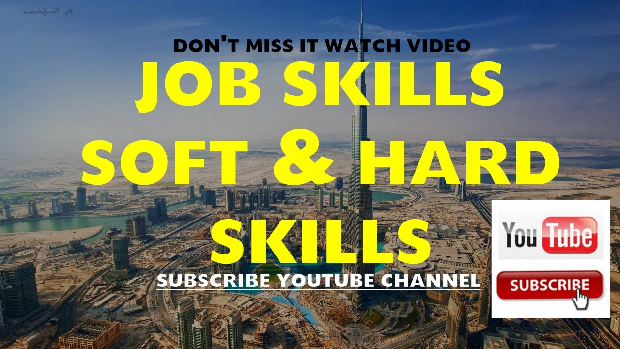 job skill soft skills hard skills job skill soft skills hard skills