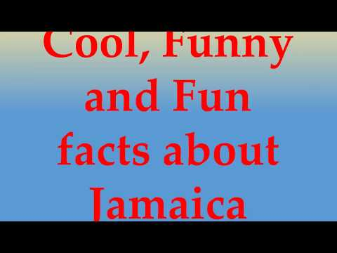 Cool, Funny and Fun facts about Jamaica