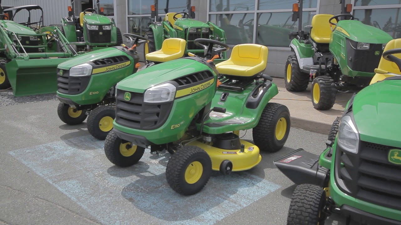 John Deere E100 Series Riding Lawn Mowers - The Lawn Forum