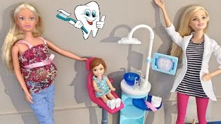 Dr. Barbie - First visit to the dentist - Annie goes to the dentist - Julia Silva