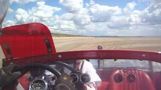 Dean Lowe RPU at Pendine Sands, VHRA Hot Rod Races on 29 June 2014