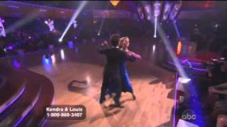 kendra wilkinson and louis van amstel dancing with the stars week 2 jive