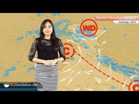 Weather Forecast for April 22: Rain in Jammu and Kashmir; Heatwave in Rajasthan, Haryana, Delhi