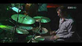 Mark Kelso drum solo EBS Korean TV show