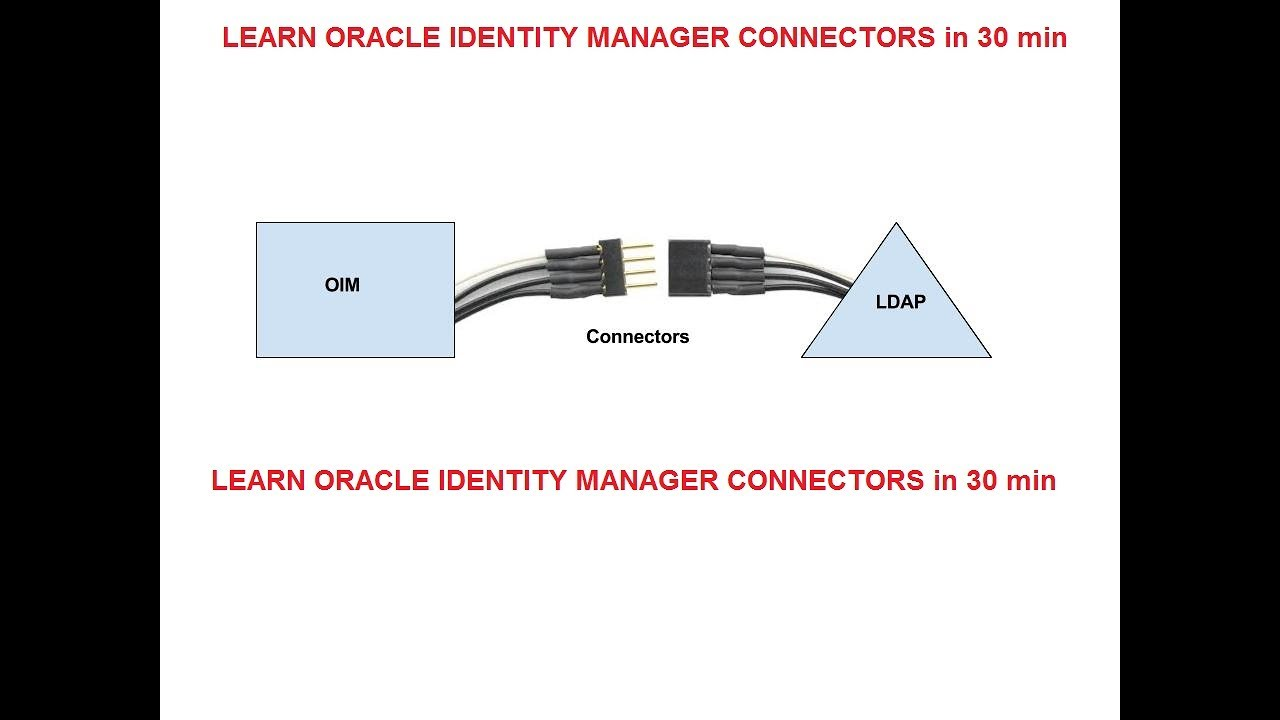 Learn Oracle Identity Manager Connectors in 30 min (Part IV) || OIM-OUD  Integration Part II