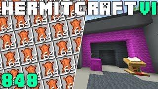 Hermitcraft VI 848 Breaking Iskall's RUN Game & Insane Leather Farm!