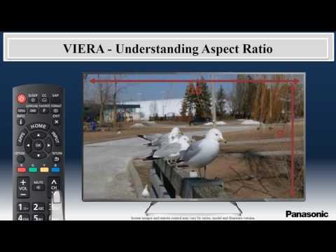 Panasonic VIERA Televisons Understanding the Aspect Ratio