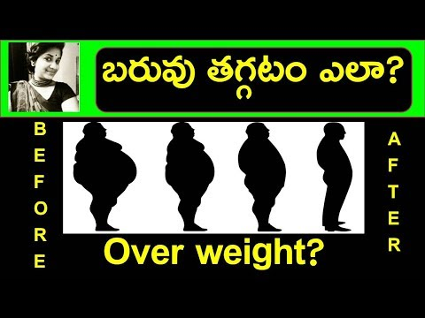 How to lose weight fast in Telugu|Lose overweight and belly fat super fast|Weight loss diet plan tip