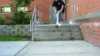 heel whip 4 stair head bang
