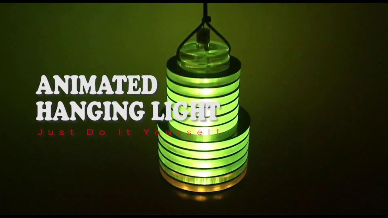 Animated Hanging Light With LED Strip WS2812B SMD3535 and ...