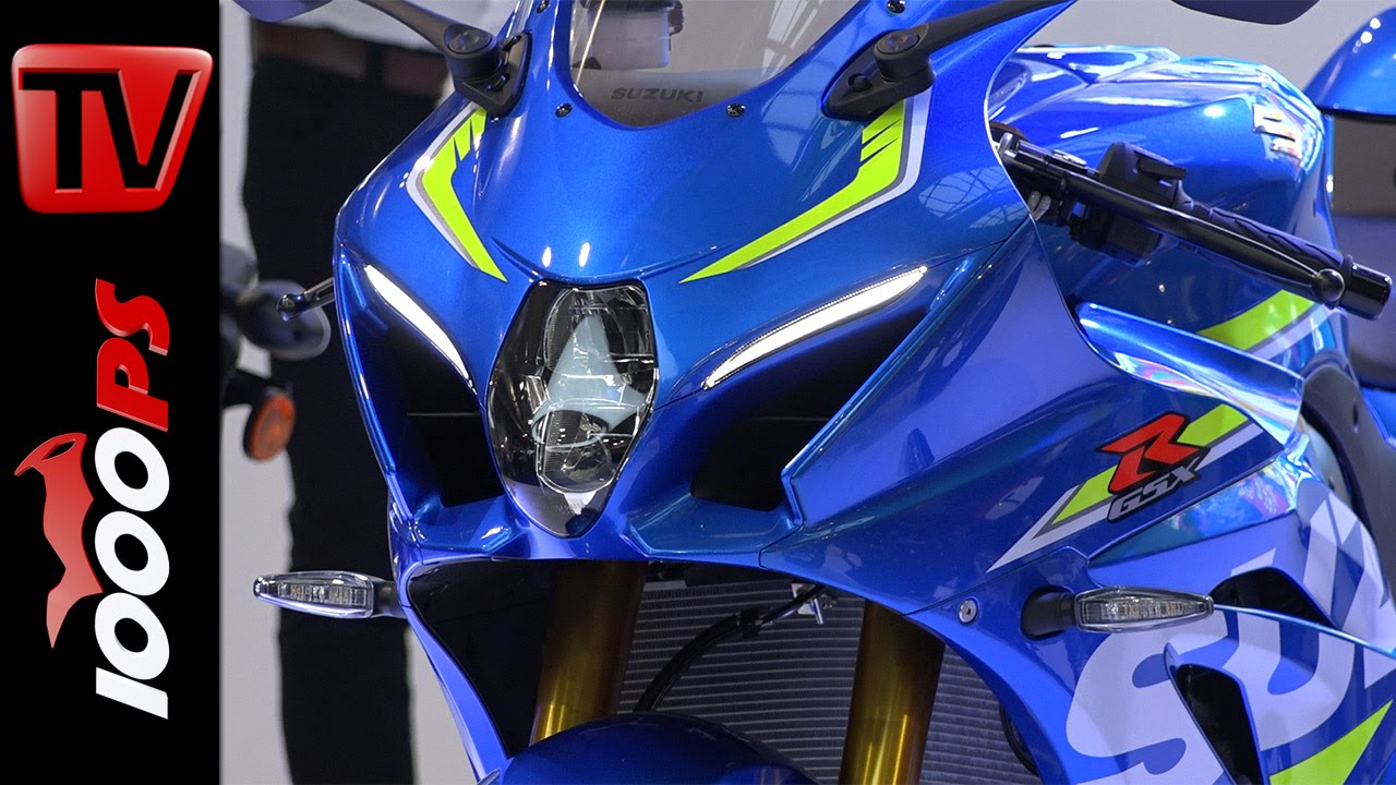 New Suzuki GSX-R 1000 2016 - First Look - YouTube