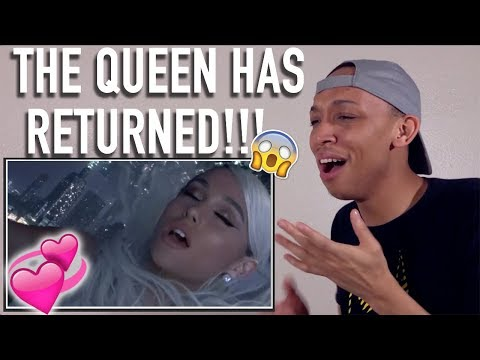 Reacting to Ariana Grande  No Tears Left To Cry  and Video