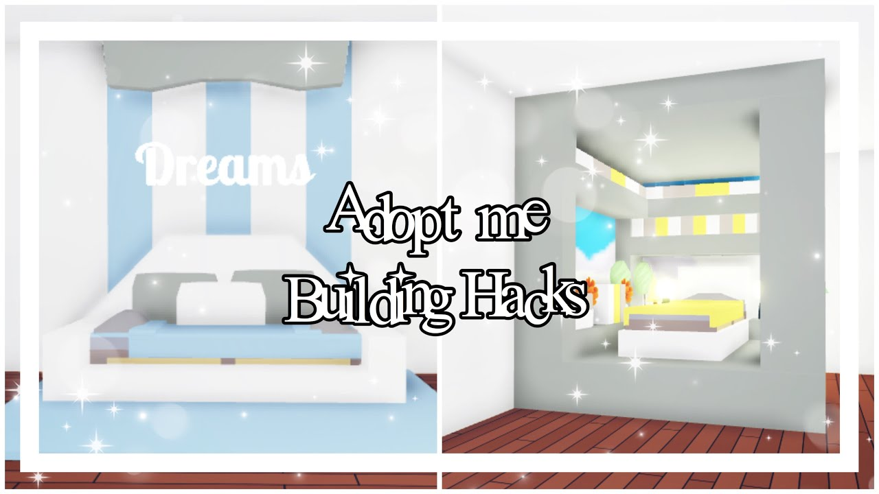 Roblox Youtube Adopt Me Cool Beds For Babies Adopt Me Building Hacks Adopt Me Reader S Bed Daybed Youtube