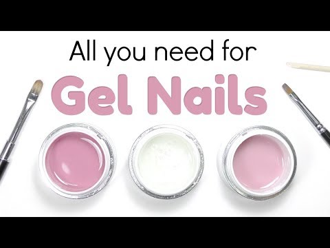 Hard Gel Nail Beginner Kit 💅 Products To Get Started