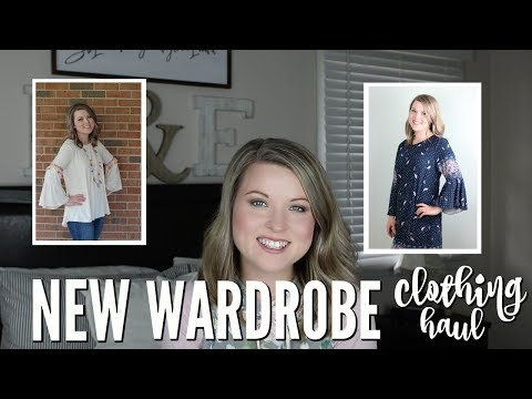 NEW WARDROBE CLOTHING HAUL | BUYING ALL NEW CLOTHES AFTER LOSING 45 POUNDS!