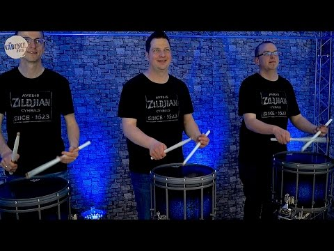 PARADIDDLE PARADE Drumline Cadence (from SFZ Cadence Pack Vol. 10)