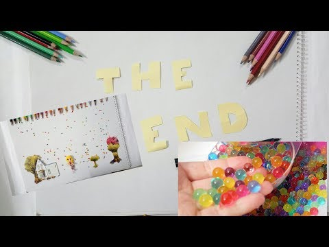 Rains of orbeez :^)  *stop motion animation with magic balls!!