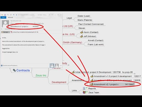 Mind mapping in project management (using Freemind)