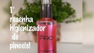 PRIMEIRA RESENHA /HIGIENIZADOR/ VALE APENA?!?!