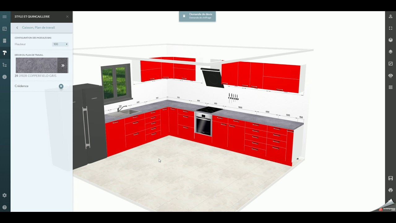 Configurateur Cuisine 3d Youtube