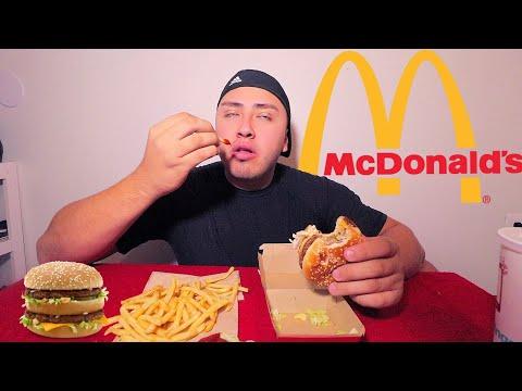 Mcdonalds Big Mac Meal MUKBANG