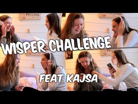 Wisper challenge ft. kajsa // Guro's Life