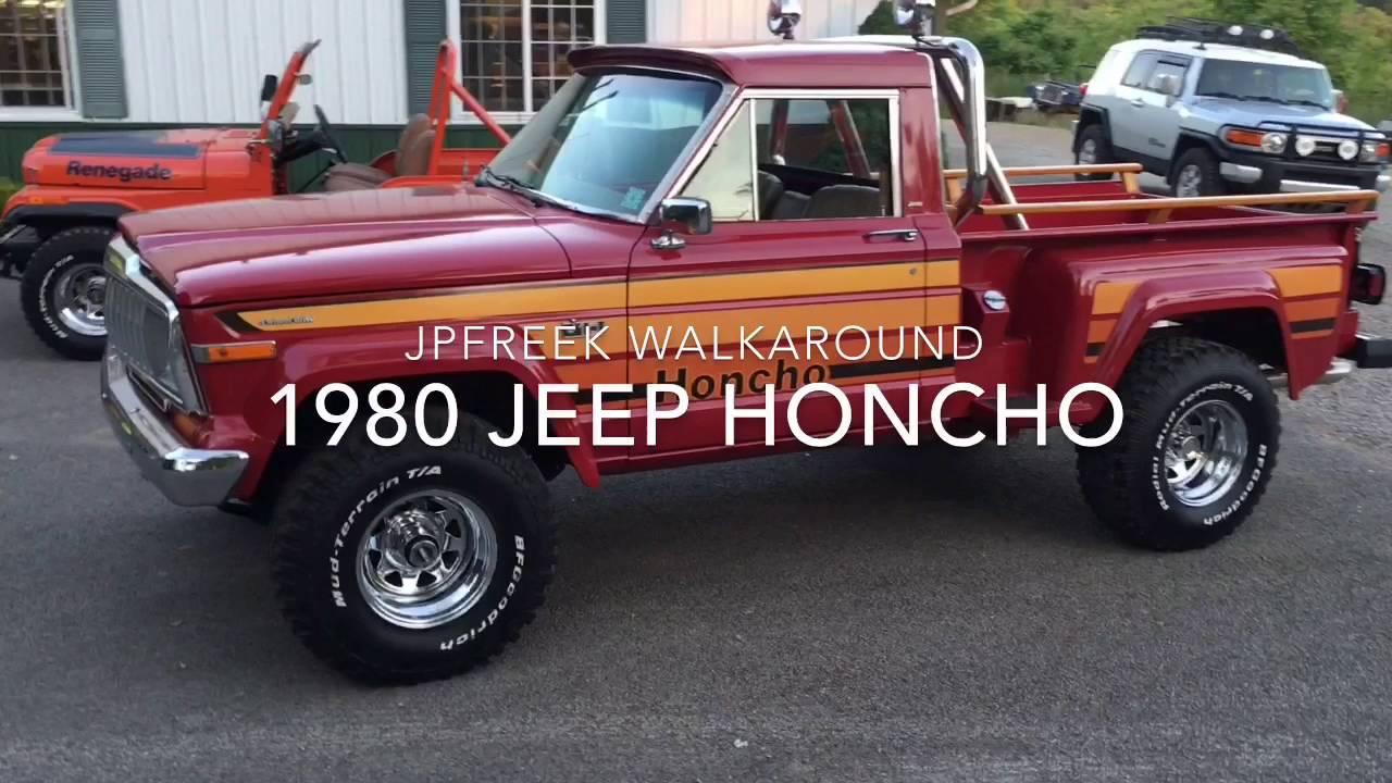 Jeep Honcho Truck