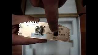GSM репитер INCELL GA900 (www.shop-gsm.net)(INCELL GSM репитер GA900 - обеспечивает площадь покрытия до 800 м2 в диапазоне 900МГц. Заказать установку GSM репитера..., 2011-12-24T20:08:25.000Z)