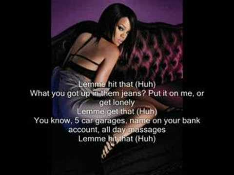 Rihanna - Lemme get that (With Lyrics)