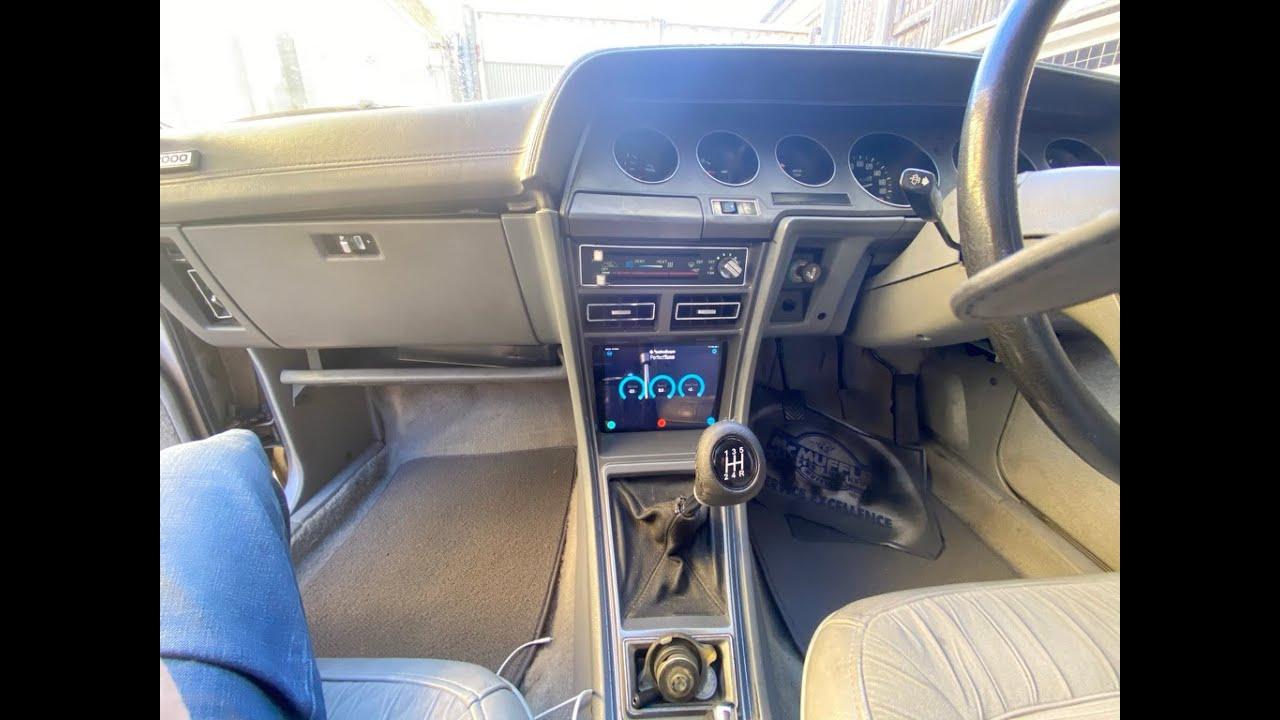 iPad Mini dash install for Chrysler Scorpion GE 1978 1879