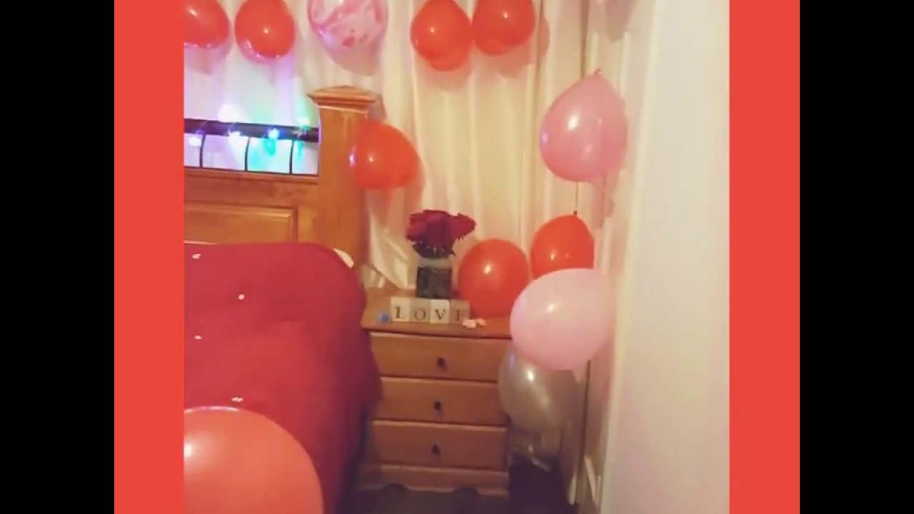 Valentine S Day Romantic Diy Room Decorations Ideas Youtube
