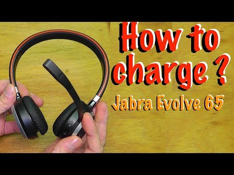 How To Charge Jabra Evolve 65 Battery Youtube
